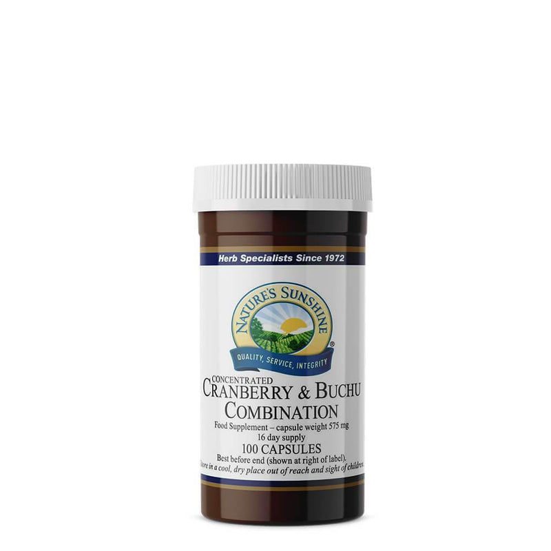 Natures Sunshine - Cranberry and Buchu Combination - Capsule
