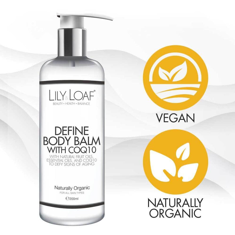 Lily and Loaf - Define Body Balm with CoQ10 200ml (Organic) - Skincare