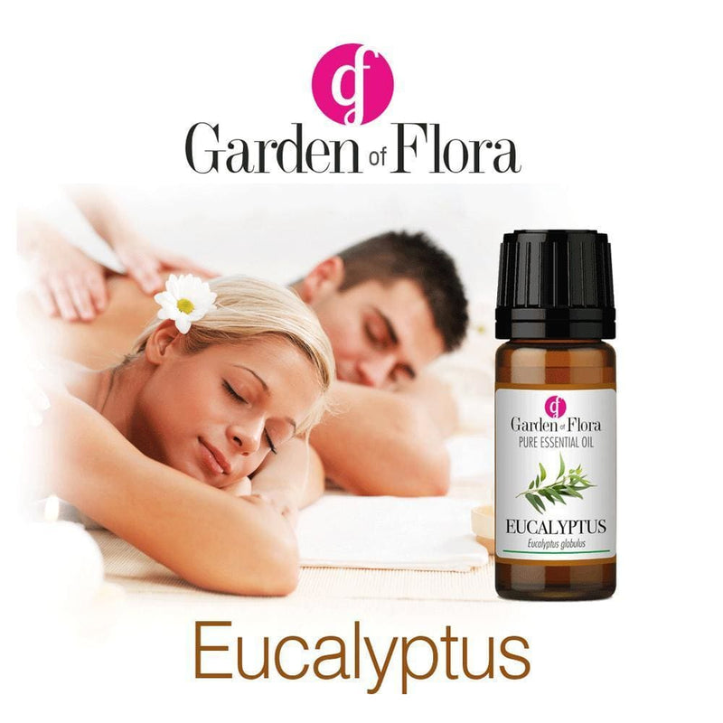 Garden of Flora - Eucalyptus Pure Essential Oil 10ml - Essential Oil