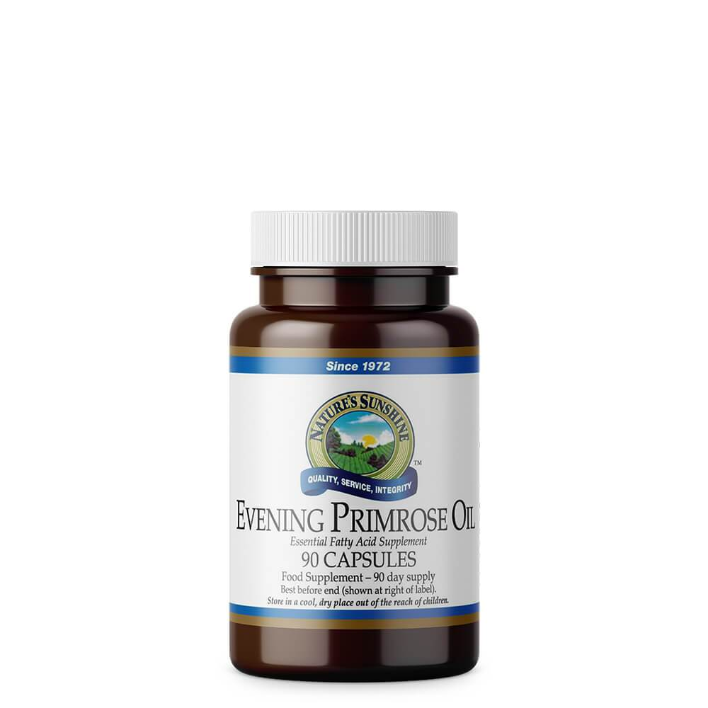 Natures Sunshine - Evening Primrose Oil (90 Softgel Capsules) - Softgel Capsule