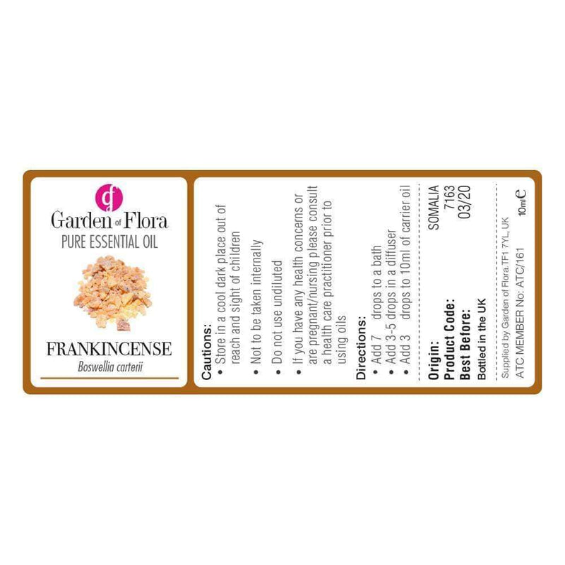 Garden of Flora - Frankincense 10ml - Essential Oil