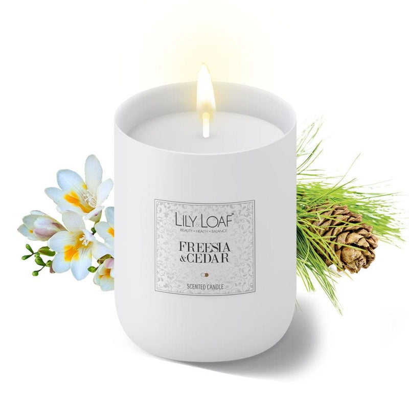 Lily and Loaf - Freesia & Cedar Soy Wax Candle - Candle