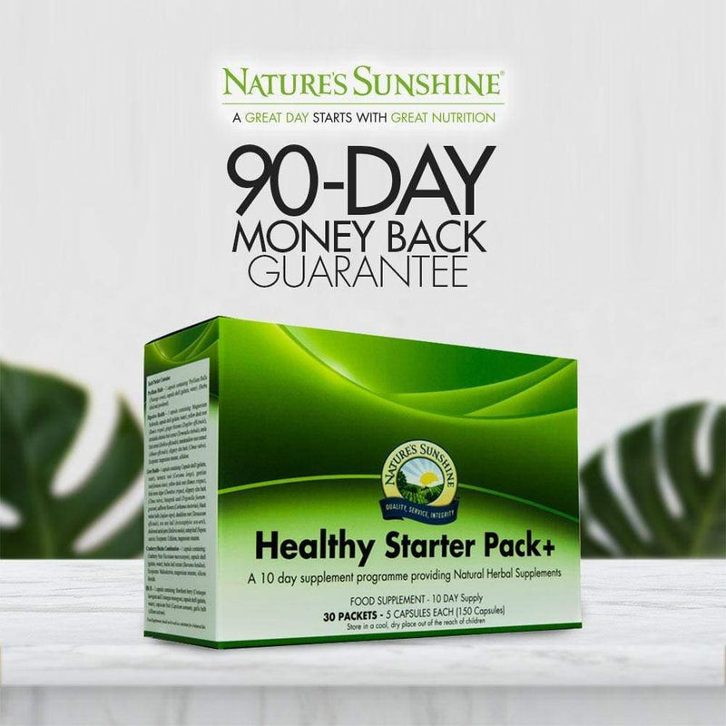 Nature's Sunshine - Healthy Starter Pack+ (10 day supply) - Capsule