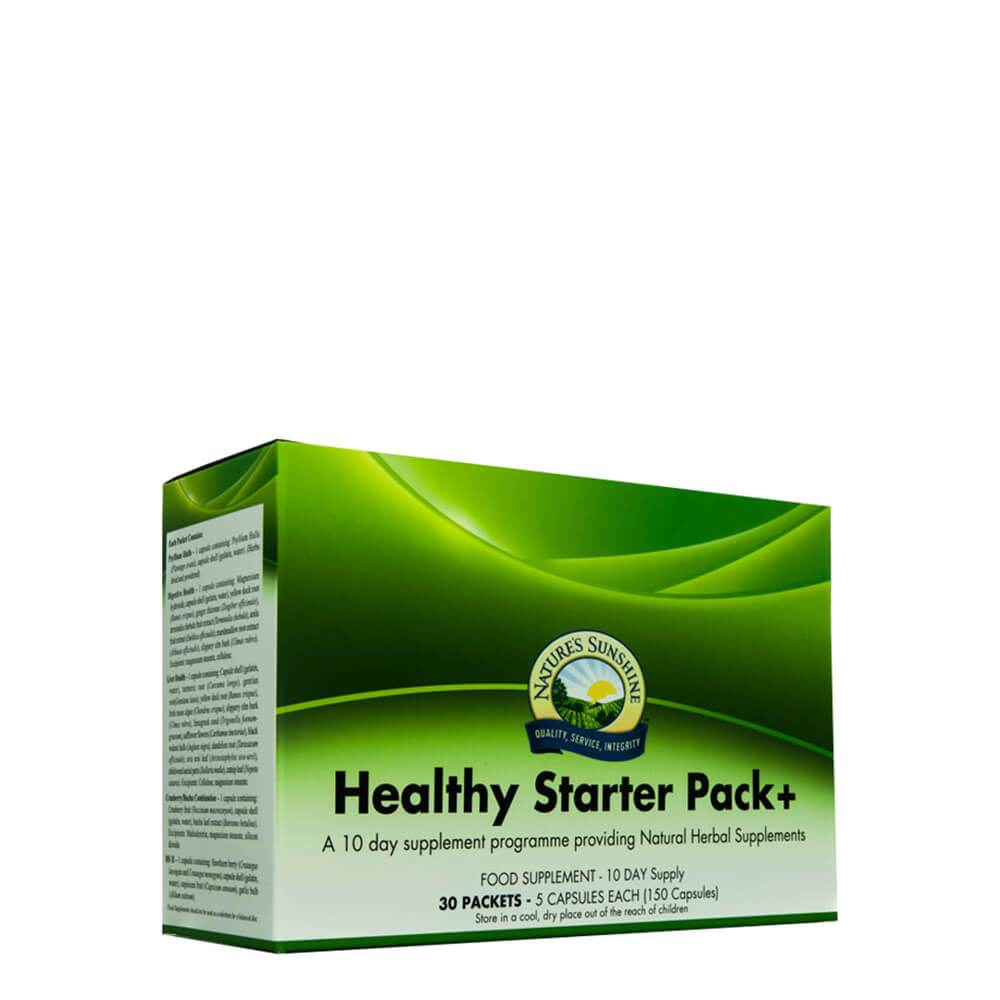 Natures Sunshine - Healthy Starter Pack+ (10 day supply) - Capsule