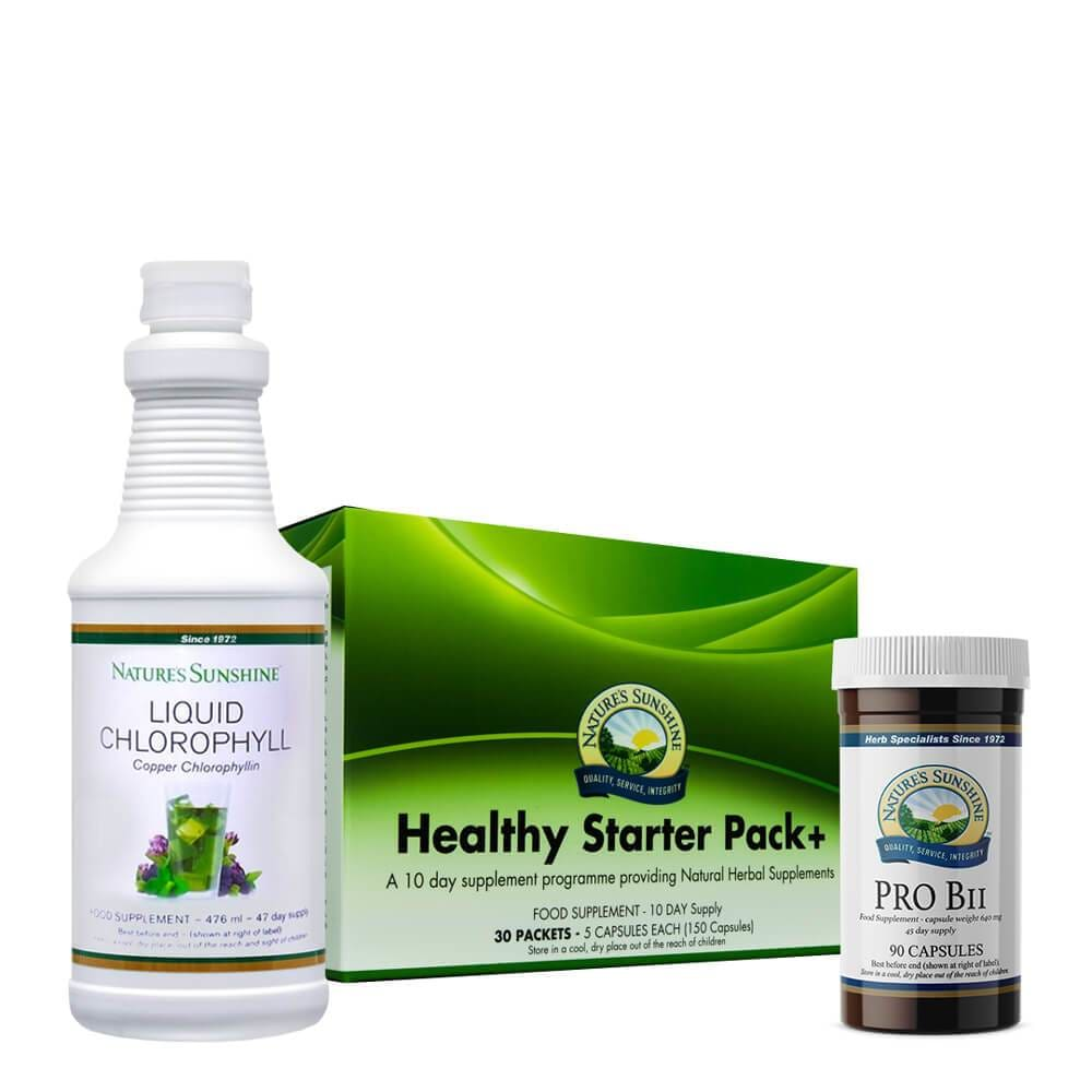 Nature's Sunshine - Healthy Starter Programme - Bundle