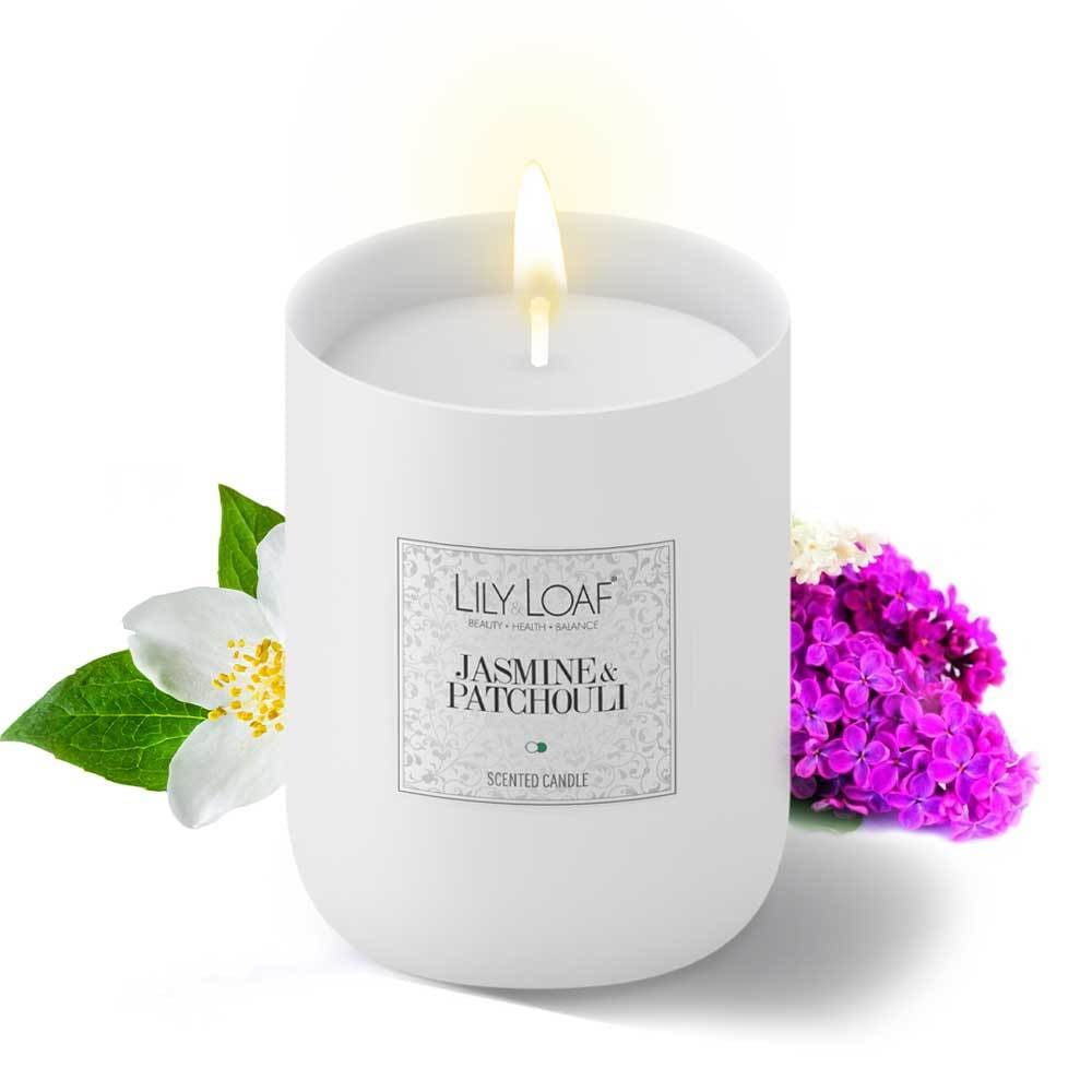 Lily and Loaf - Jasmine & Patchouli Soy Wax Candle - Candle