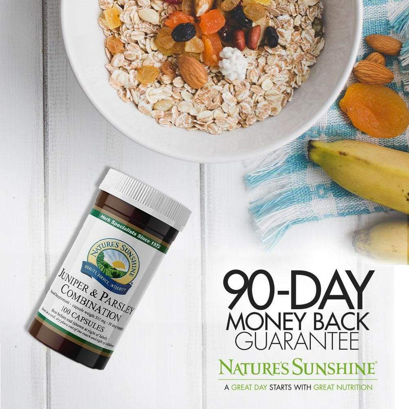 Nature's Sunshine - Juniper and Parsley Combination (100 Capsules) - Capsule