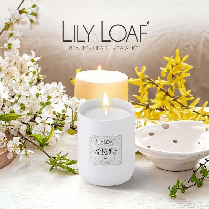 Lily and Loaf - Lavender & Geranium Soy Wax Candle - Candle
