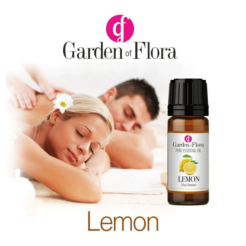 Garden of Flora - Lemon Pure Essential Oil 10ml - Essential Oil
