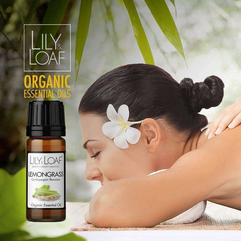 Lily & Loaf - Lemongrass 10ml (Organic) - Essential Oil