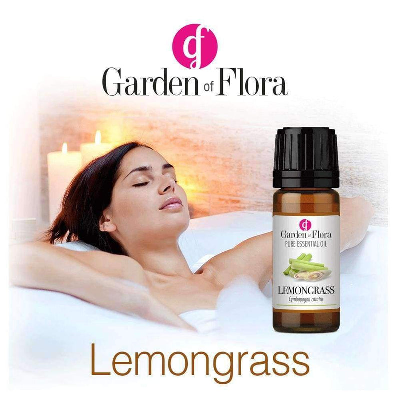 Garden of Flora - Lemongrass 10ml - Essential Oil