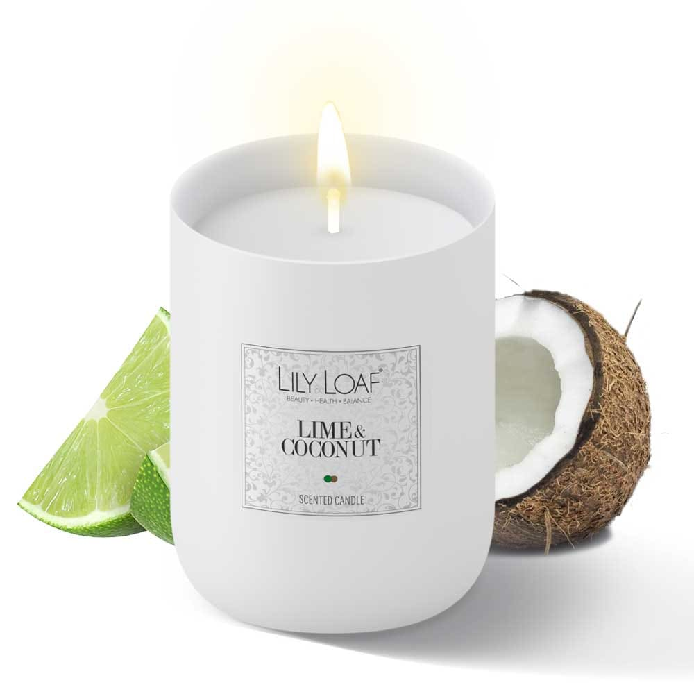 Lily and Loaf - Lime & Coconut Soy Wax Candle - Candle