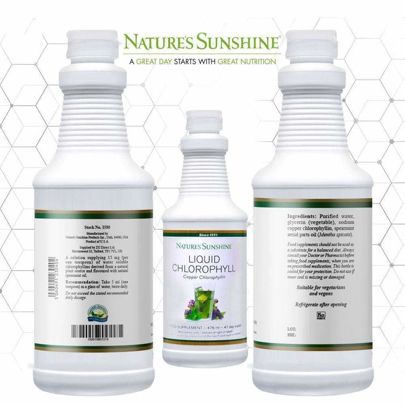 Nature's Sunshine - Liquid Chlorophyll (476ml) - Liquid