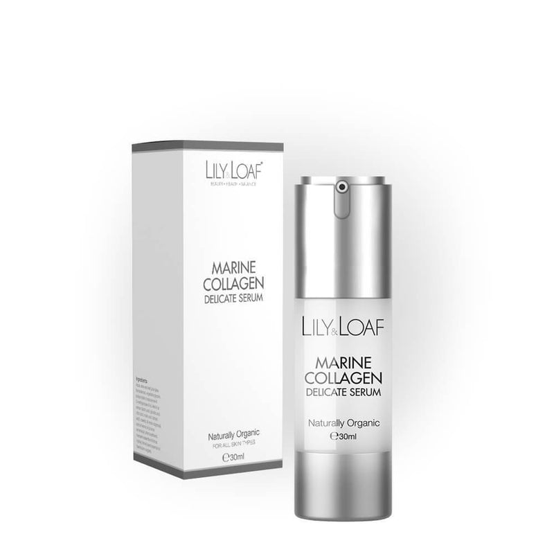 Lily and Loaf - Marine Collagen Delicate Serum 30ml (Organic) - Skincare