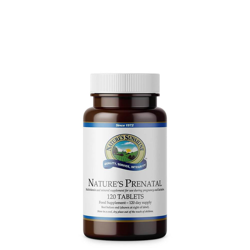 Natures Sunshine - Natures Prenatal (120 Tablets) - Tablet