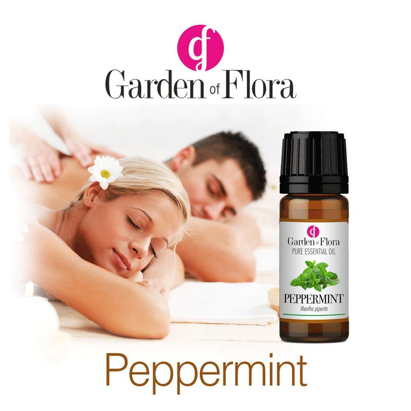Garden of Flora - Peppermint Pure Essential Oil 10ml - Essential Oil