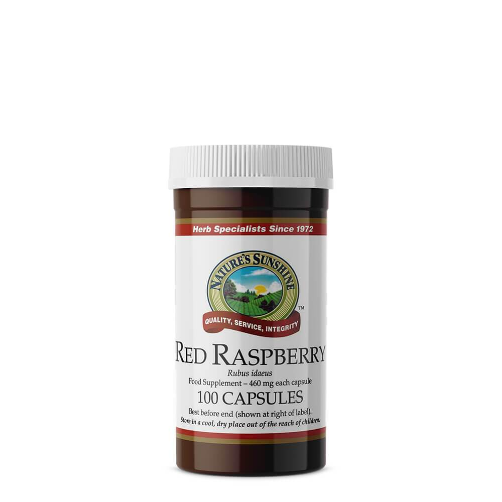 Natures Sunshine - Red Raspberry (100 Capsules) - Capsule