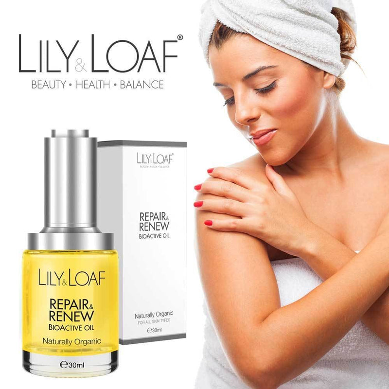 Lily and Loaf - Repair and Renew BioActive Oil 30ml (Organic) - Skincare