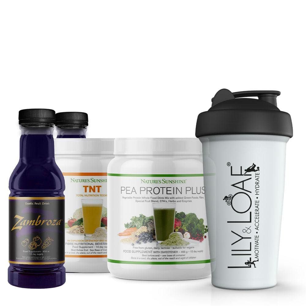 Nature's Sunshine - Shake It Up Pea Protein - Bundle