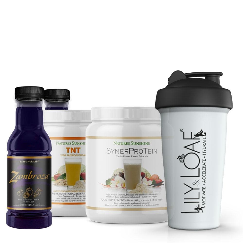Nature's Sunshine - Shake It Up SynerProTein - Bundle
