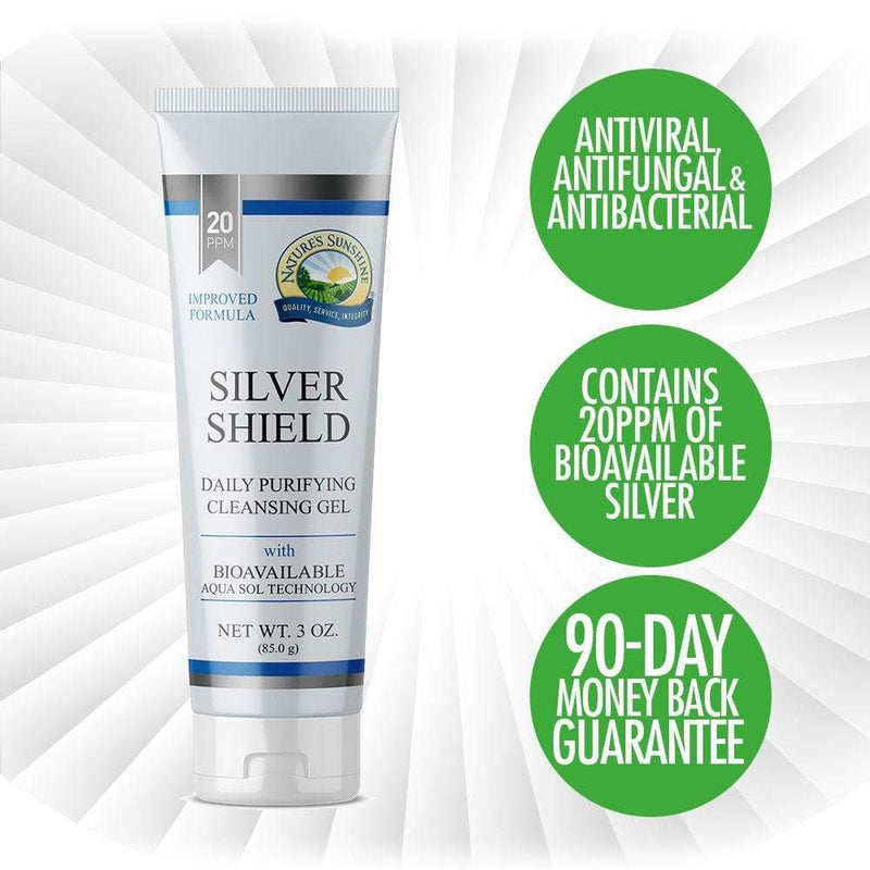 Nature's Sunshine - Silver Shield Gel® (85g) - Gel