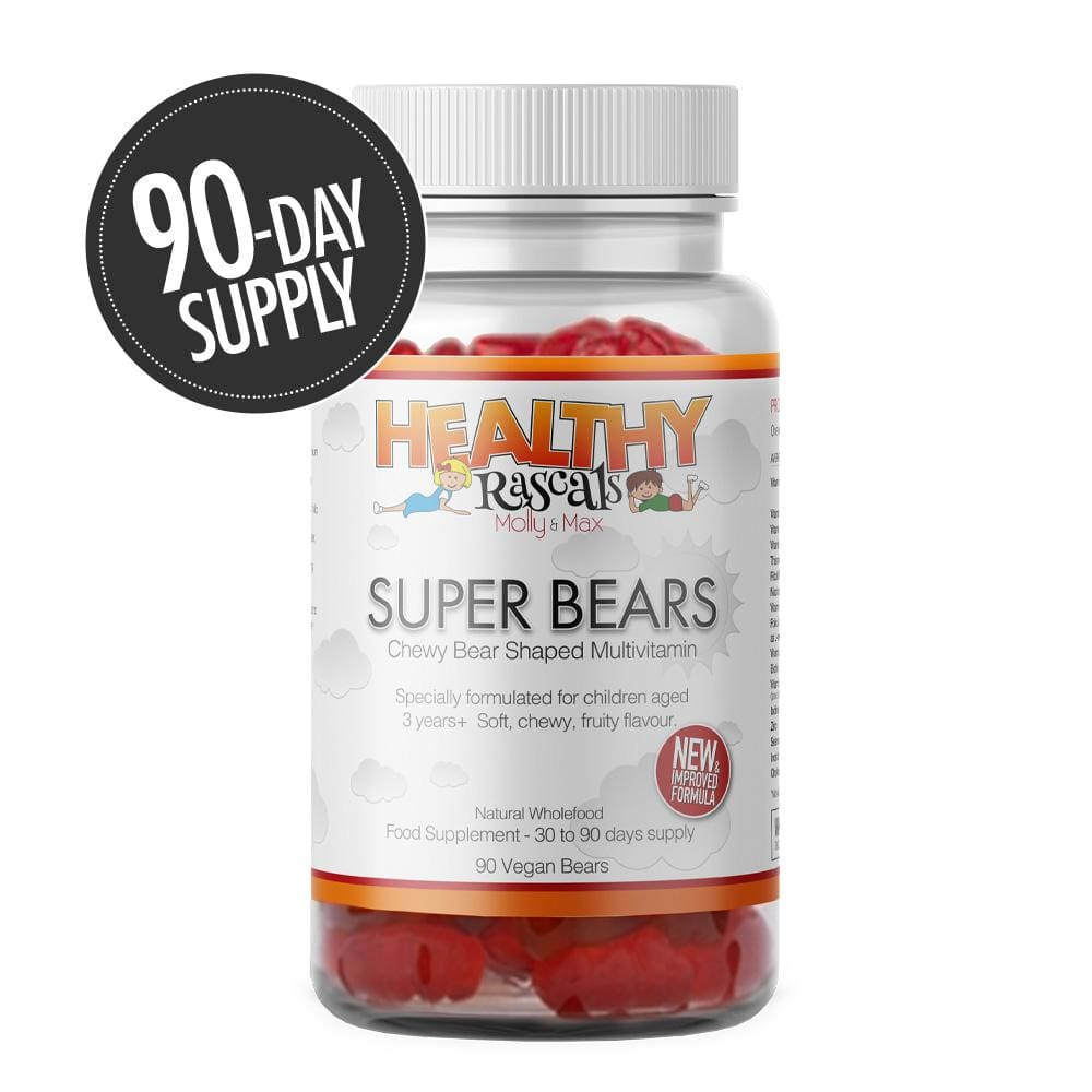 Healthy Rascals - Super Bears (90 Jelly Bears) - Jelly Bear