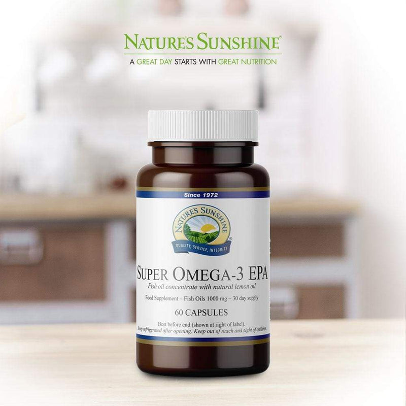 Nature's Sunshine - Super Omega-3 EPA (60 Capsules) - Softgel Capsule