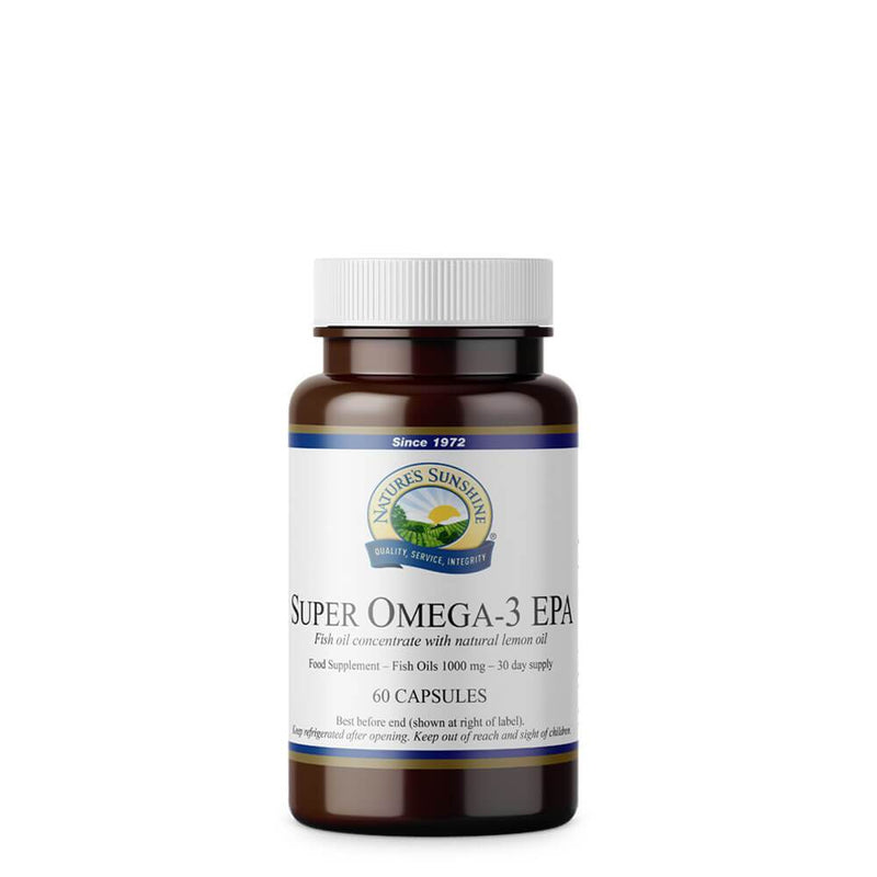 Natures Sunshine - Super Omega-3 EPA (60 Capsules) - Softgel Capsule