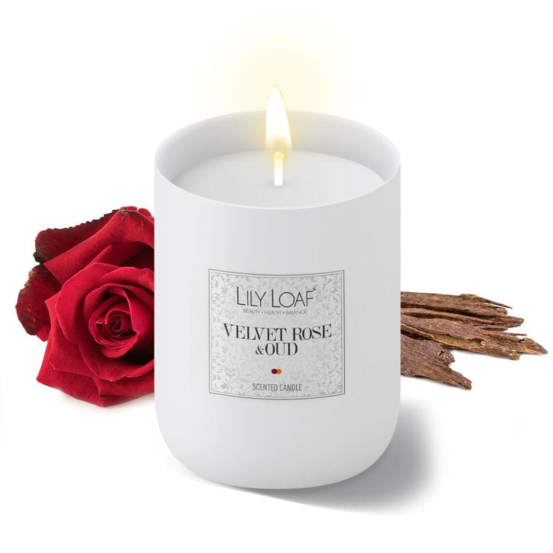 Lily and Loaf - Velvet Rose & Oud Soy Wax Candle - Candle