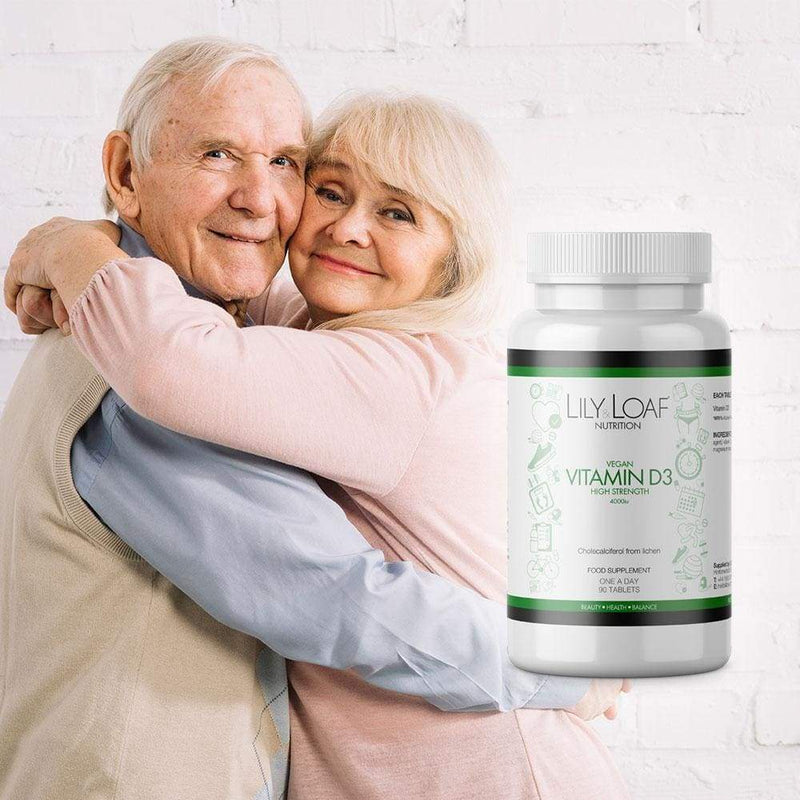 Lily and Loaf - Vitamin D3 High Strength (Vegan) - Tablet