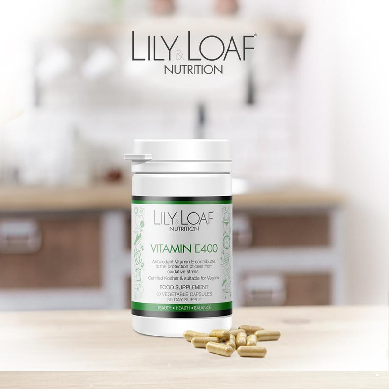 Lily and Loaf - Vitamin E 400IU (30 Vegetable Capsules) - Capsule