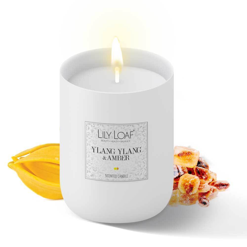 Lily and Loaf - Ylang Ylang and Amber Soy Wax Candle - Candle