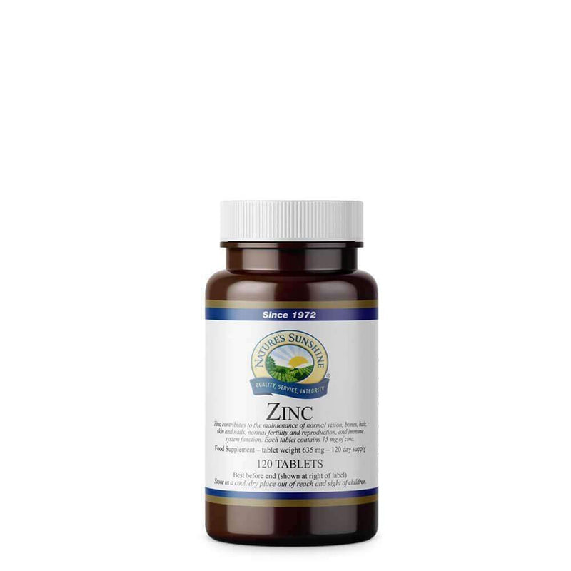 Natures Sunshine - Zinc - Tablet
