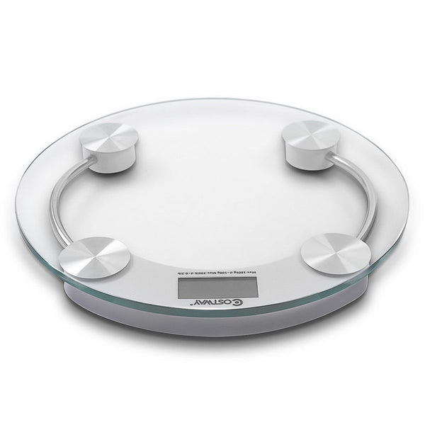 396 lb Personal Bathroom Round Digital Weight Scale