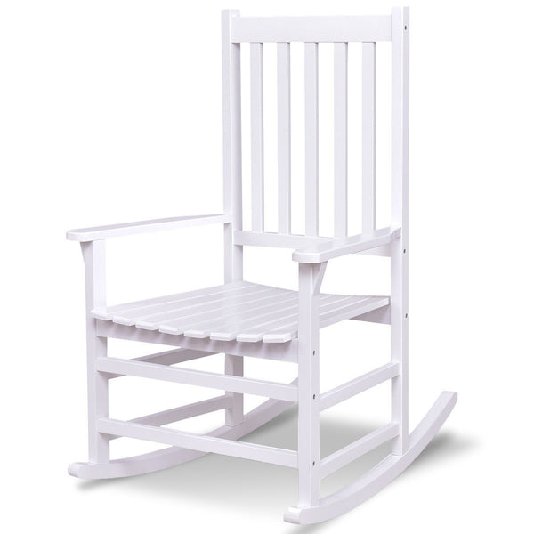 Indoor Outdoor Solid Wood Porch Rocking Chair