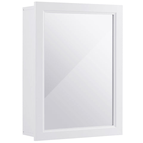 Wall Mounted Adjustable Medicine Storage Mirror Cabinet