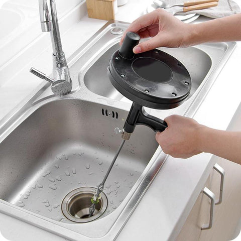 Bendable Sink Tub Toilet Dredge Pipe Sewer Cleaning Brush Drain Cleaners
