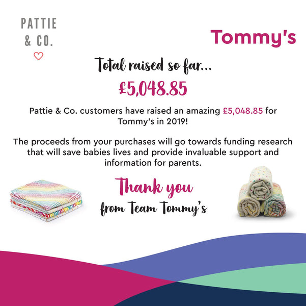Our continued support for Tommy's
