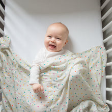Load image into Gallery viewer, Star Organic Cotton Muslin Swaddle - Pattie & Co.
