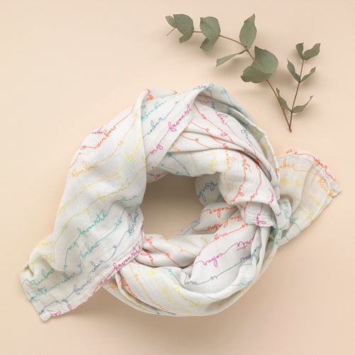 Favourite - Organic Cotton Muslin Swaddle - Pattie & Co.