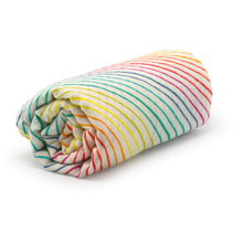 Load image into Gallery viewer, Rainbow Super Soft Muslin Swaddle - Pattie & Co.