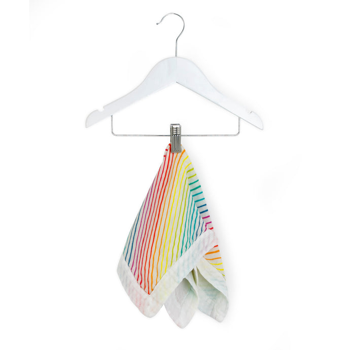 Rainbow - Organic Cotton Muslin Comforter Security Blanket