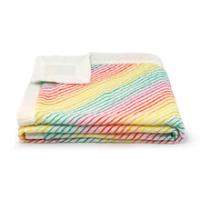 Load image into Gallery viewer, Rainbow Organic Cotton Muslin Blanket - Pattie & Co.