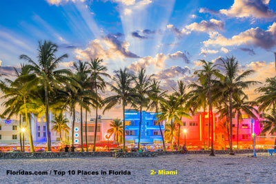 Top 10 Places to visit in Florida / Miami