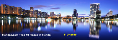 Top 10 Places to visit in Florida / Orlando
