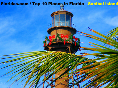 Top 10 Places to visit in Florida / Sanibel Island