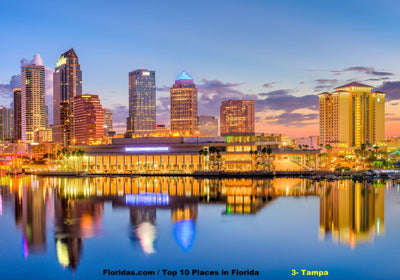 Top 10 Places to visit in Florida / Tampa