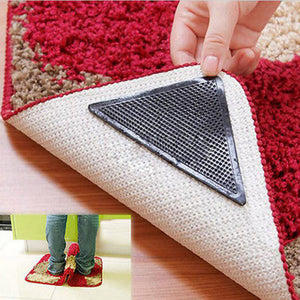 4pcs/lot Carpet Non Slip Bath Mat Sticker Anti Slip Shower Strips Flooring Safety Sticker Mat Pad Bathroom Anti Slip Sticker