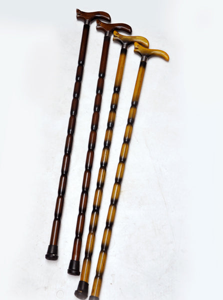 Filial piety elderly The leading wholesale wood    alpenstock Walker durable send elderly gift cane poppy flower