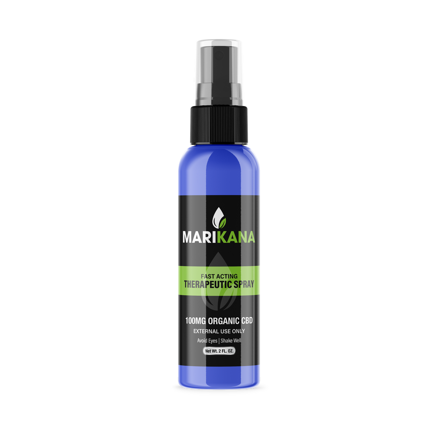Marikana Fast Acting Therapeutic Spray (100mg CBD)